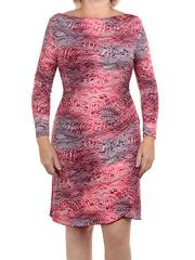 77-2 платье женское, красное