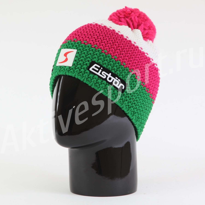 Женские шапки Шапка вязаная с помпоном Eisbar Star Pompon SP 542 IMG_1009.jpg
