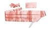 Камербанд (кушак, пояс) La madre коралловый для смокинга+бабочка+платок