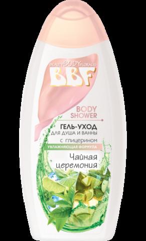 Floralis BBF Гель-уход для душа и ванны Чайная церемония 350г