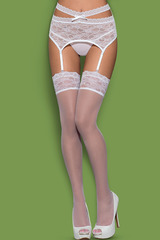 Чулки Swanita stockings White