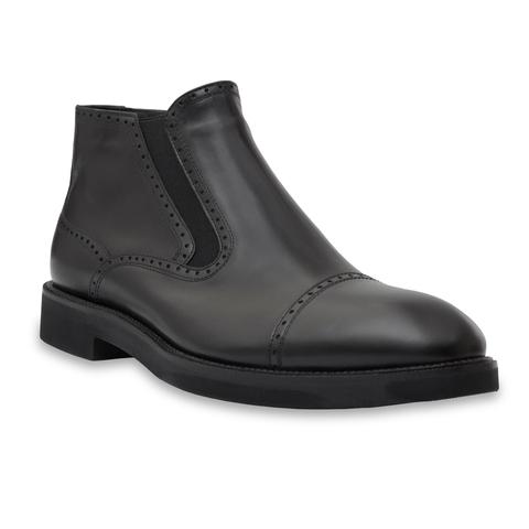 Кожаные ботинки Barcly 92832 без шнуровки