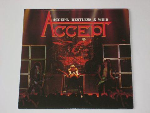 Accept / Restless & Wild (Clear Vinyl)(LP)