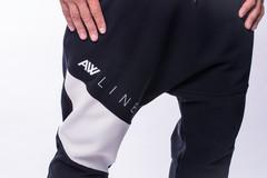 Мужские брюки Nebbia Drop Crotch 729 black