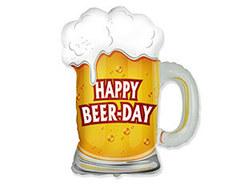 """Фигура """"Кружка пива Happy Beer-day"""""""