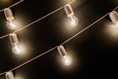 РЕТРО-ГИРЛЯНДА 100 метров - 250 лампочек