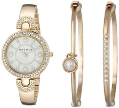 Женские наручные часы Anne Klein 1960GBST в наборе