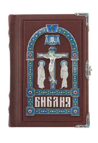 Библия с эмалью