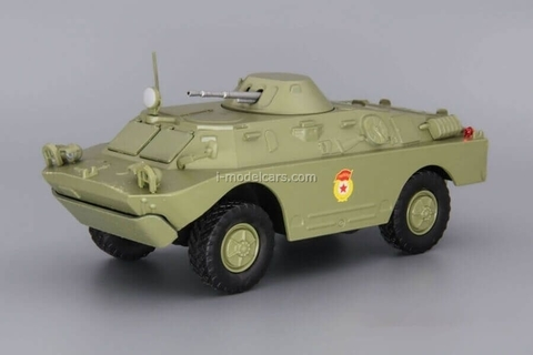 BRDM-2 (Armored Scouting Vehicle) khaki 1:43 DeAgostini Auto Legends USSR #232