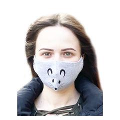 Многоразовая маска для лица Мышка