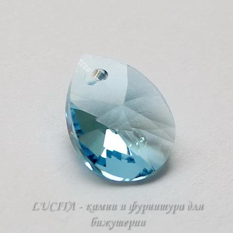 6128 Подвеска Сваровски Капля Aquamarine (12 мм) ()