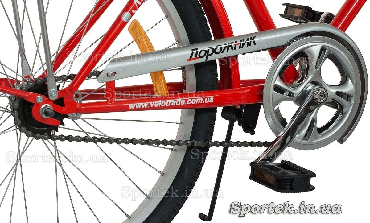 Трансмиссия городского универсального подросткового велосипеда Дорожник Ласточка 2015