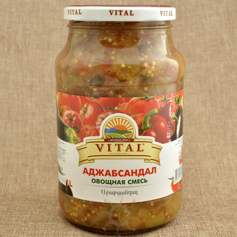 Аджапсандал (овощная смесь) Витал, 1000г