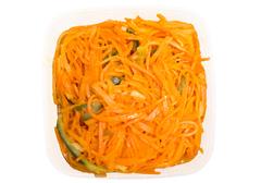 Морковь по-корейски с малосольным огурцом, 400г