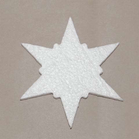 Звезда новогодняя из пенопласта
