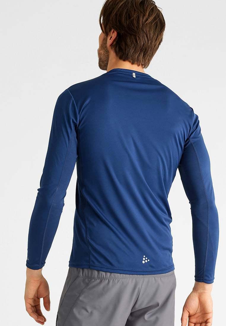 Мужская рубашка для бега Craft Mind Run (1903948-2381) с охлаждающим эффектом.