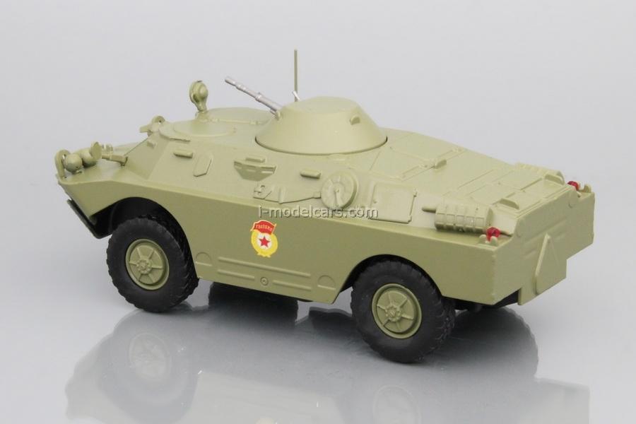 BRDM-2 (Armored Scouting Vehicle) khaki 1:43 DeAgostini Auto Legends USSR #232