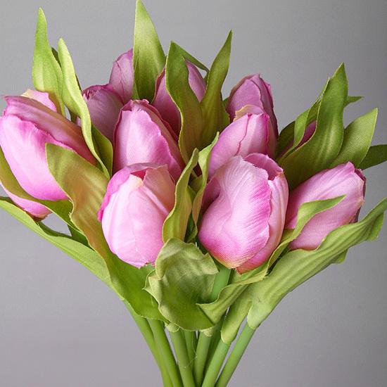 Букет тюльпанов фиолетовый из 9-ти шт., 5568-4