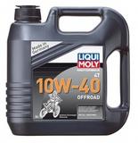 Liqui Moly  Motorbike 4T Offroad 10W-40 - НС-синтетическое моторное масло для 4-тактных мотоциклов