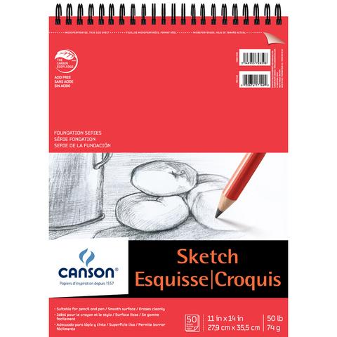 Блокнот для зарисовок CANSON 50л.