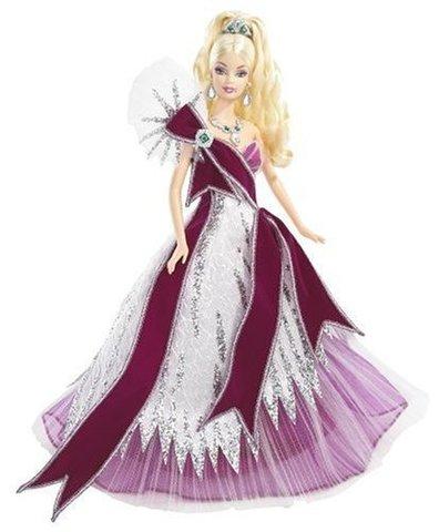 Коллекционная кукла Барби от Боба Маки (Bob Mackie)  2005 г. - Праздничная, Mattel