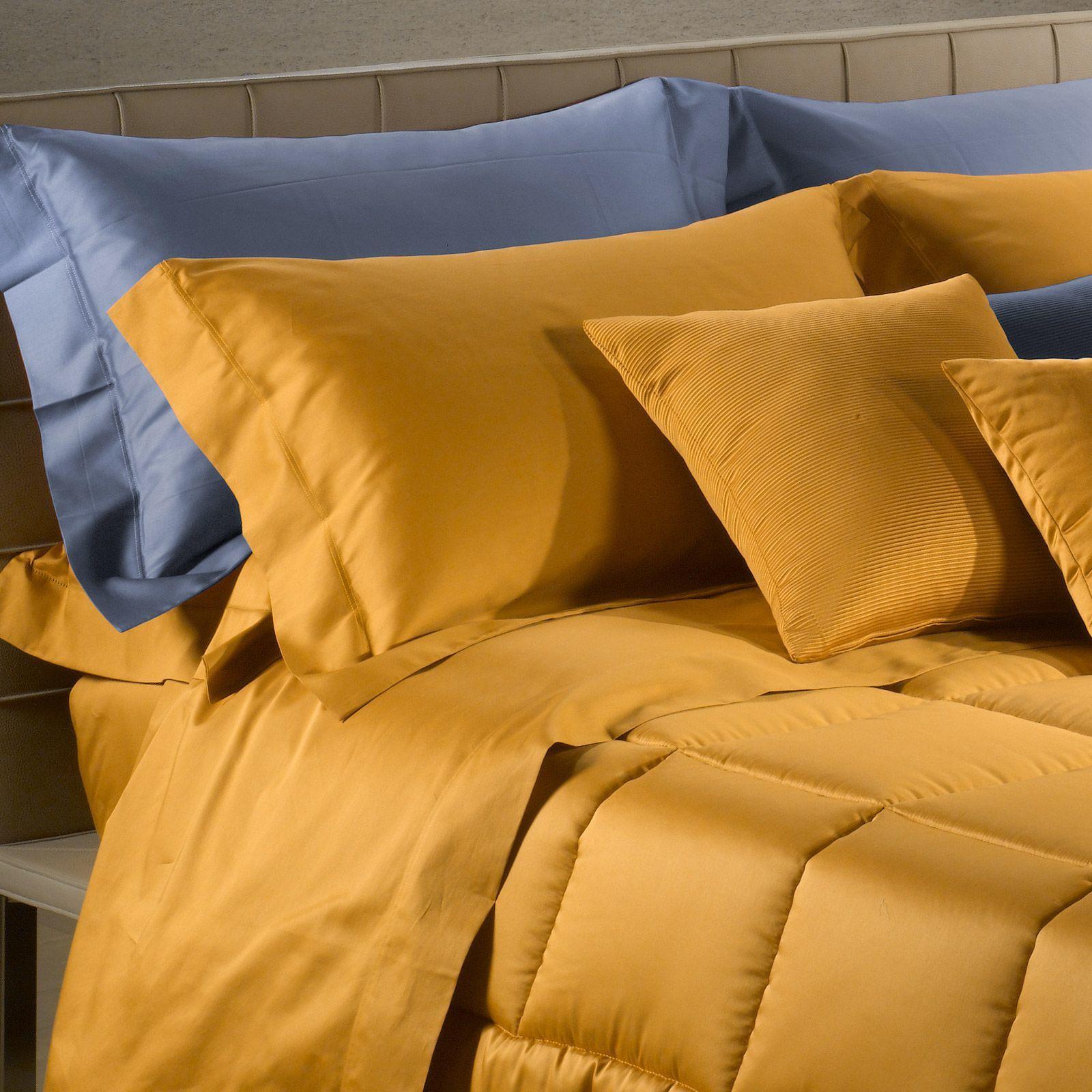 Наволочки для сна Наволочки 2шт 70x70 Caleffi Raso Tinta Unito золотые komplekt-navolochek-50x70-caleffi-raso-tinta-unito-zolotoy-italiya.jpg