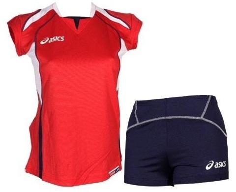 Asics Set Olympic Lady форма волейбольная женская red