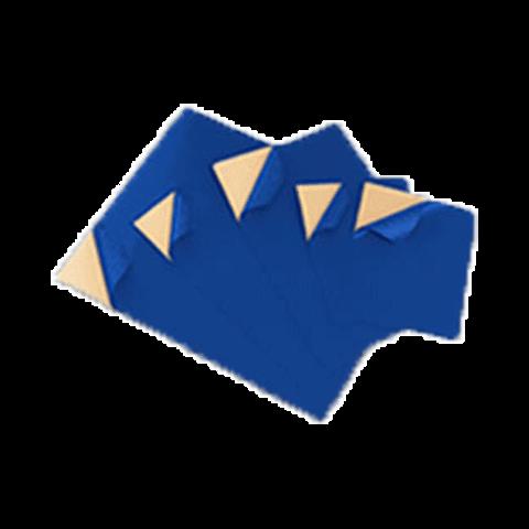 Ремкомплект для тентов Х-Пласт набор из 5 шт. ультра СИНИЙ