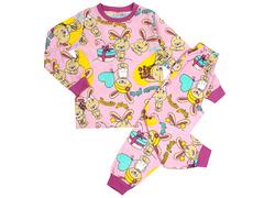 BK580K-3 пижама детская, розовая