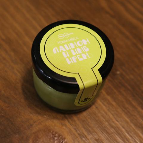 Крем-мед лайм с имбирем