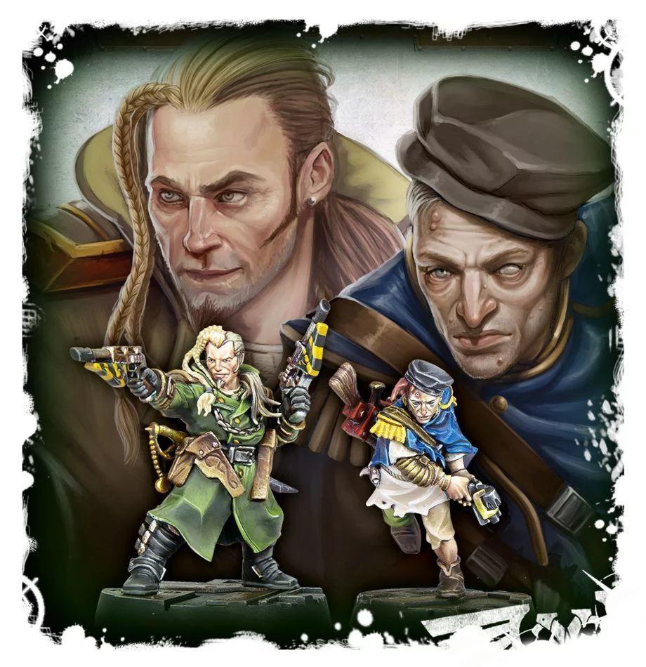Necromunda: Kal Jericho and Scabs