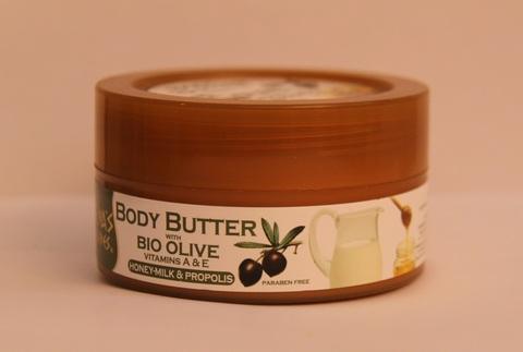 Купить греческую косметику Body Butter с медом и прополисом ATHENA'S TREASURES