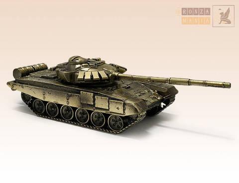 Танк Т-72Б - Рогатка (масштабная модель)