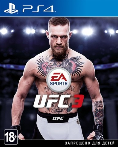 Sony PS4 UFC 3 EA Sports (русские субтитры)
