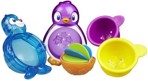 Munchkin игрушки для ванны Морские животные 2шт от 12 мес