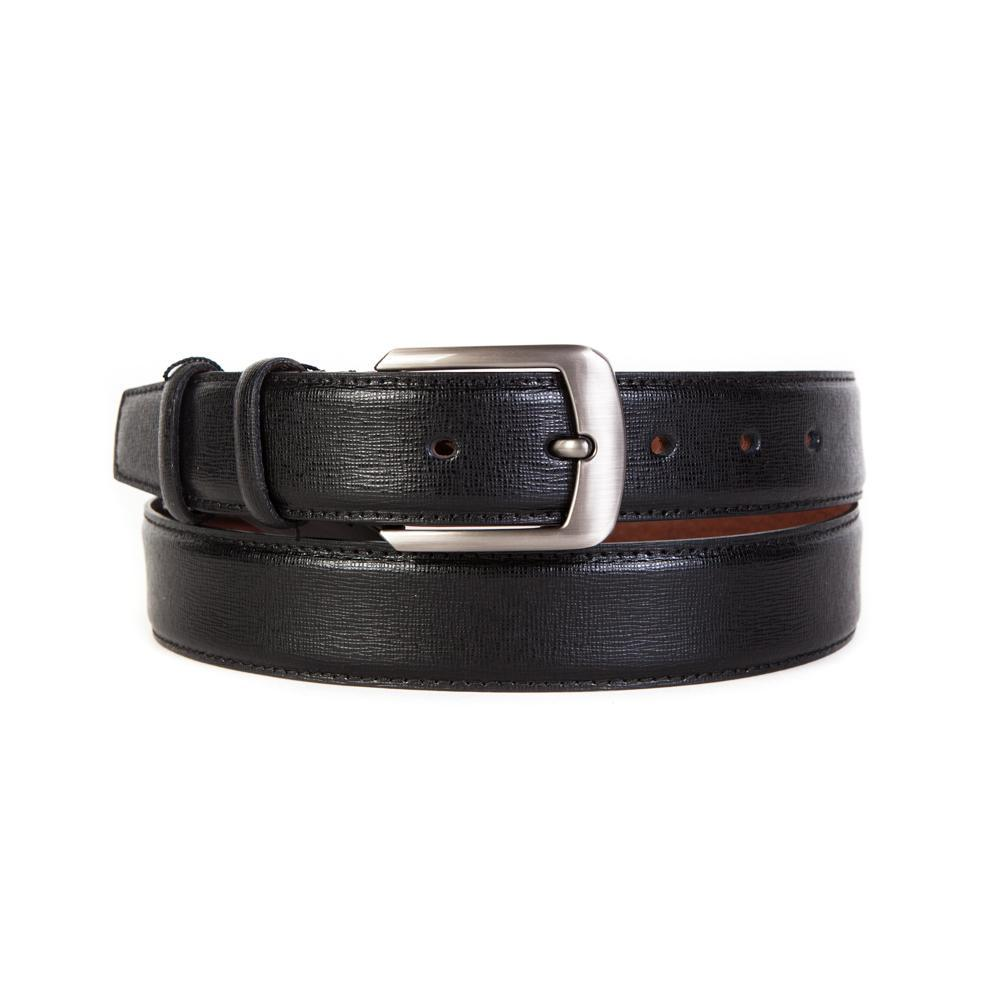 Ремень брючный чёрный 35 мм Doublecity RC35-30-04
