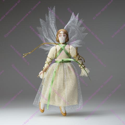 Игрушка фарфоровая плоская - Ангел