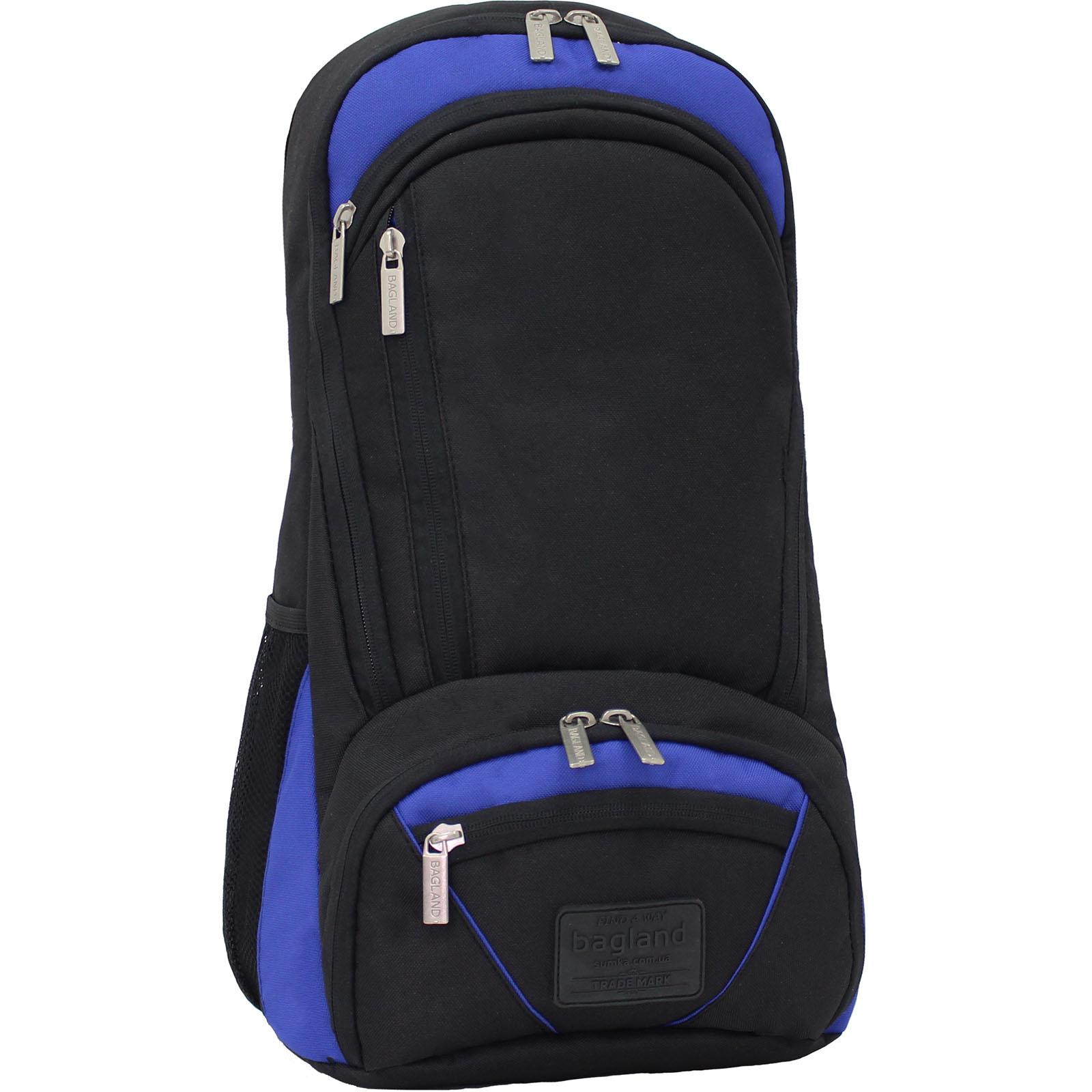 Рюкзаки для ноутбука Рюкзак для ноутбука Bagland Granite 23 л. Черный/электрик (0012066) IMG_9797.JPG