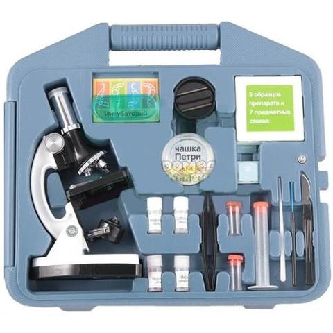 Микроскоп 100х-900х в кейсе