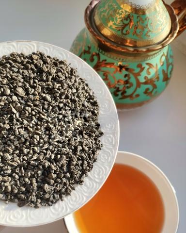 Зелёный чай Ганпаудер 100 грамм