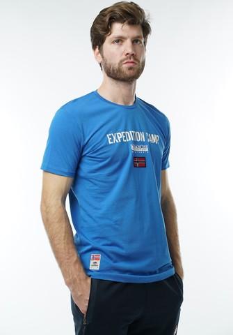"""Футболка """"Napapijri"""" 1040 Blue"""
