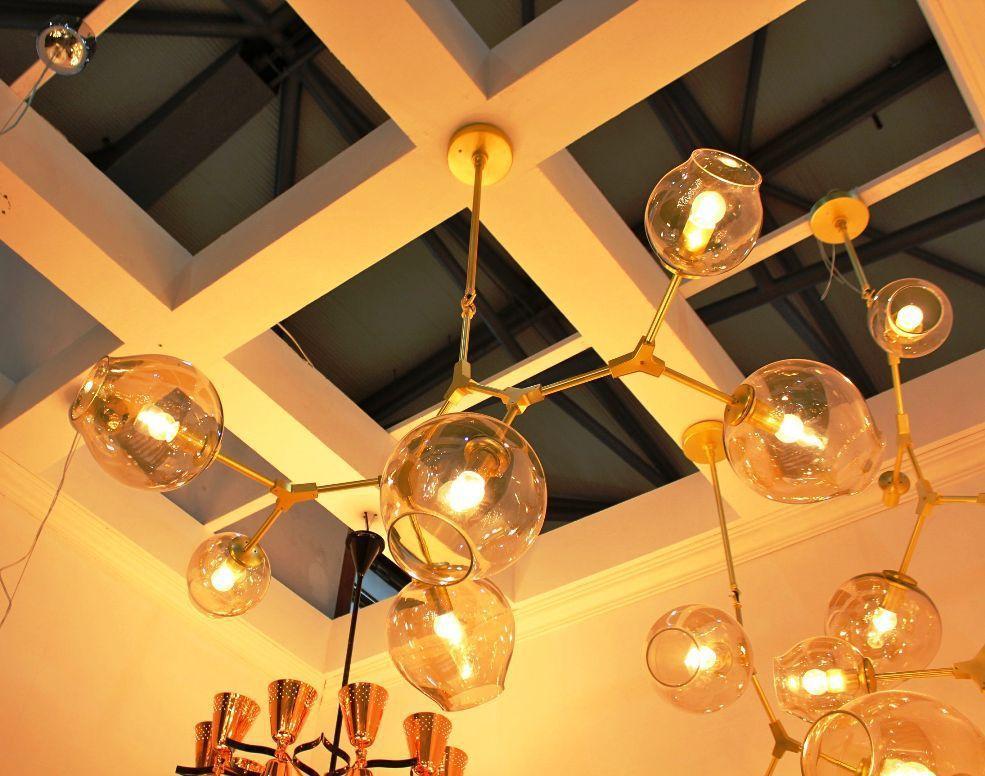 Replica Lindsey Adelman 6 Branching Bubble Chandelier