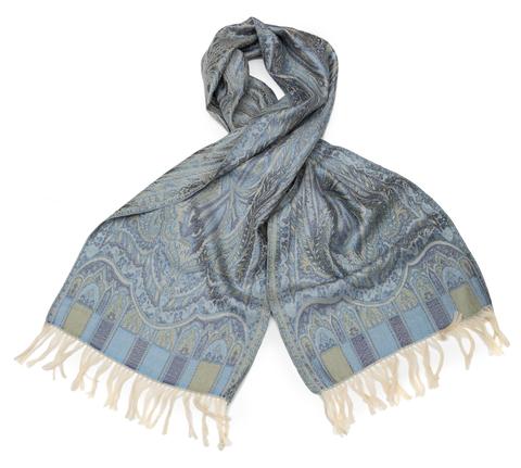 Плед-шарф 35х160 AM Paris Tolede голубой