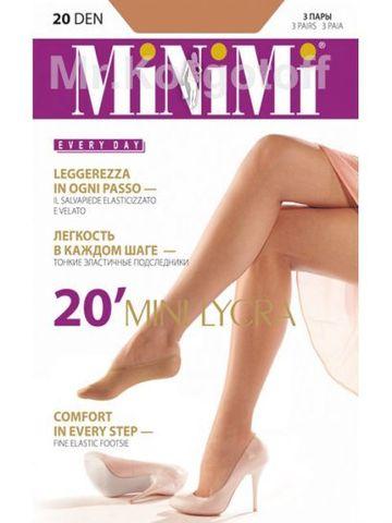 Подследники Minimi Mini 20 (3 пары)