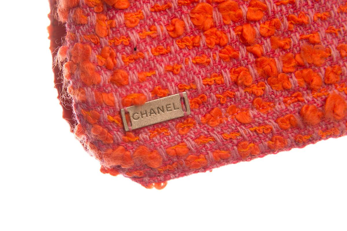 Стильный красный жакет и топ от Chanel, 42 размер