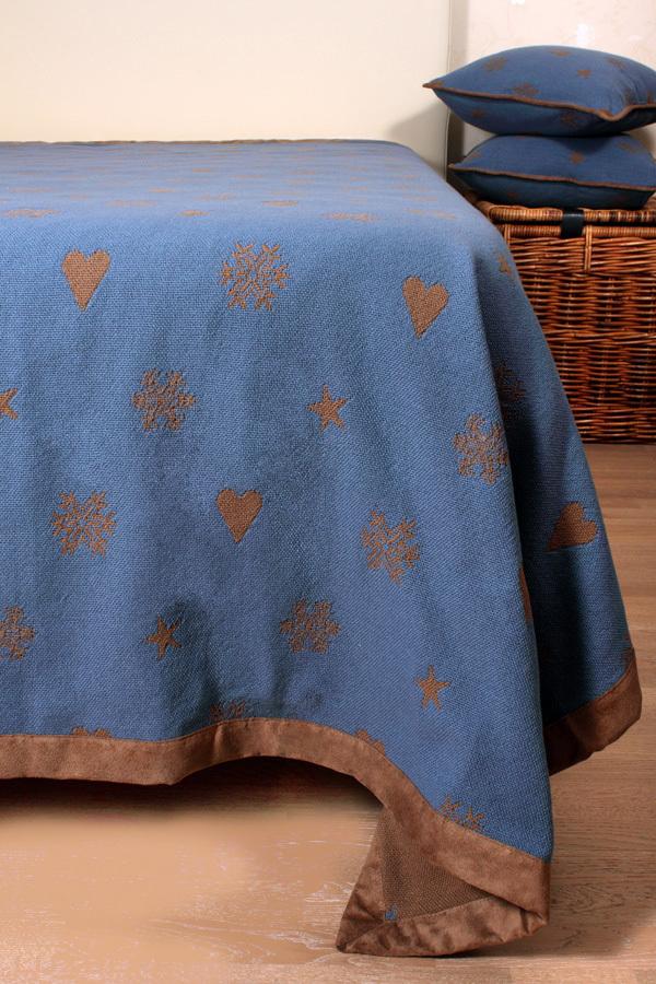 Пледы Плед-покрывало 150x220 Luxberry Зимний вечер pled-pokrivalo-zimny-vecher-luxberry-portugaliya.jpeg