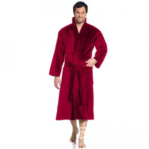 Элитный халат махрово-велюровый Feeling rubin от Vossen