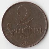 K5460, 1922, Латвия, 2 сантима