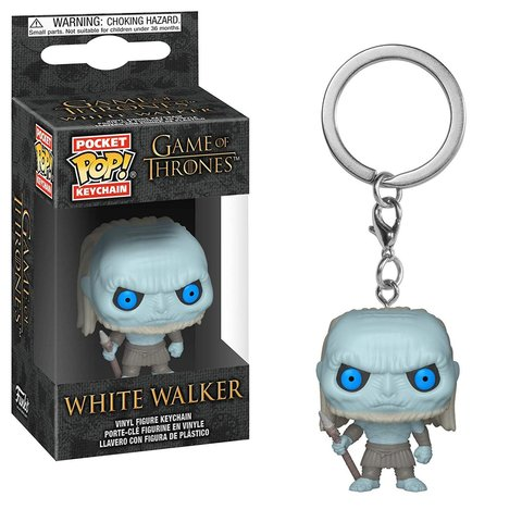 Брелок Funko Pocket POP! Keychain: Game of Thrones S10:  White Walker 37663-PDQ