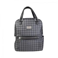 Городской рюкзак унисекс Versace V1969 YCA072-1-SQUARE-NERO-GRIGIO